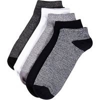 River Island MensMixed ankle socks