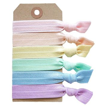 Pastel Hair Tie Set