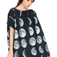 Moon Phase Jersey Top