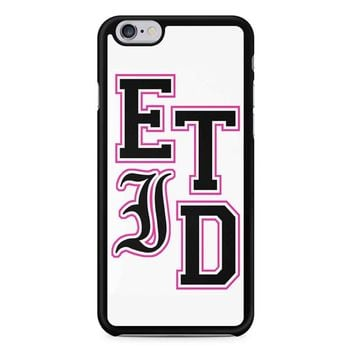 Every Time I Die Varsity Letters iPhone 6/6S Case