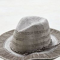 AEO Women's Straw Sun Hat (Grey)