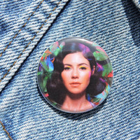 Marina and the Diamonds Immortal, FROOT Pinback button- 1.25""
