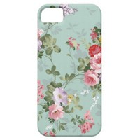 Lovely Retro Floral iPhone 5 Case from Zazzle.com