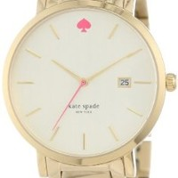 kate spade new york Women's 1YRU0009 Gramercy Gold-Tone Stainless Steel Watch