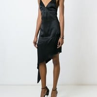 Givenchy Asymmetric Hem Slip Dress - Luisa World - Farfetch.com