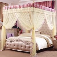 Quality Mosquito Net for Double Bed Three Door Palace Mosquito Net Bedding Curtains Bed Canopies Adults Bed Canopy Mosquito Net