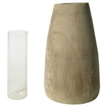 Wood Vase - Small - Threshold™