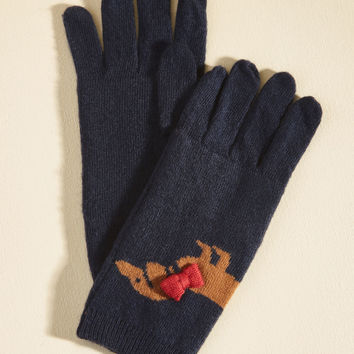 Ruff Sledding Gloves | Mod Retro Vintage Hats | ModCloth.com