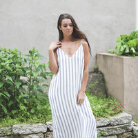 Hadley Midi Dress Ivory