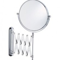 Better Living Products Vantage Wall Mount Magnified Mirror, Chrome,  8-Inch