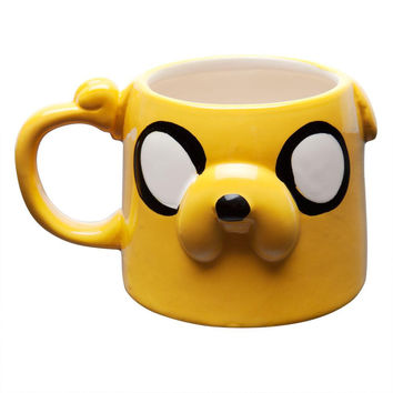 Adventure Time - Jake Head Molded Coffee Mug