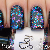 Twilight Sky Hand made custom nail polish