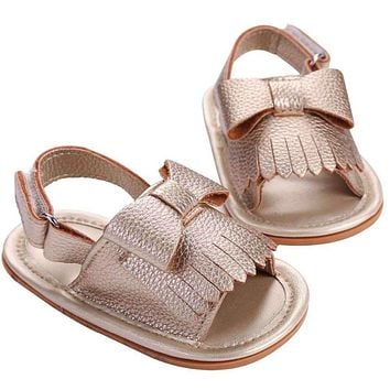 2016 Summer Toddler Girl Bebe Solid Christening Party Baby Shoes,Infant Hot Sale Fringe Birthday Blue PU Baby Moccasins Shoes