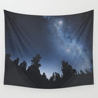 Starchild Wall Tapestry by HappyMelvin