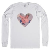 Sailor Moon Heart-Unisex White T-Shirt