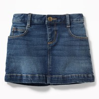 Denim Mini for Toddler Girls|old-navy
