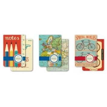 Pocket Notebooks Set of 2 Cavallini & Co.