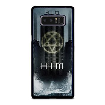 HIM BAND HEARTAGRAM Samsung Galaxy Note 8 Case Cover