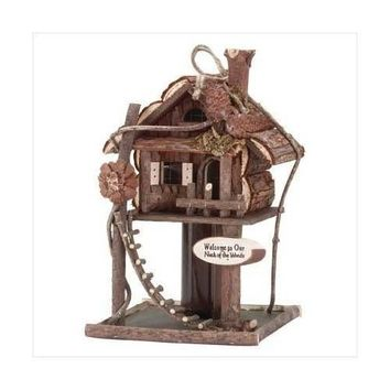 Treehouse Birdhouse (pack of 1 EA)