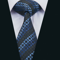 New Arrival Fashion Men`s Tie Novelty Neck Tie Silk Jacquard Ties For Men Business Wedding Party