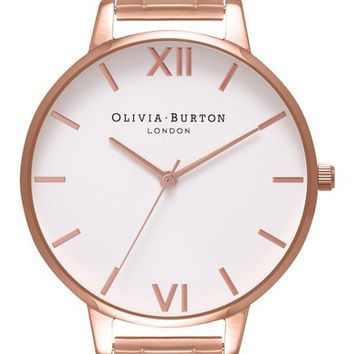 Olivia Burton Big Dial Bracelet Watch, 38mm | Nordstrom
