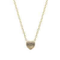 Mini Satin Heart Necklace