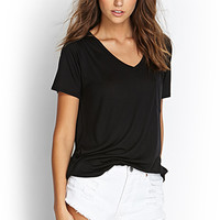 FOREVER 21 Boxy Pocket Tee