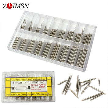 Watch Band Spring Bars Strap Pin Repair Tools Link Pins Repair Watchmaker Stainless Steel Watch Accessories Watches 8mm - 25mm