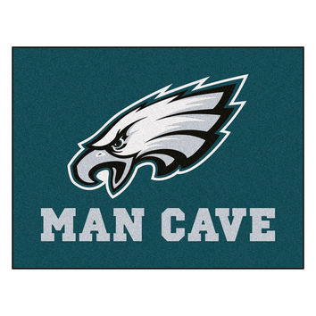 Philadelphia Eagles NFL Man Cave All-Star Floor Mat (34in x 45in)