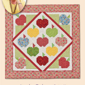 Wall Hanging Pattern, Apple Cake Quilt Pattern, Eleanor Burns Signature, Quilt in a Day