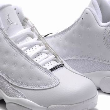 buy womens air jordan 13 retro fluff white sale