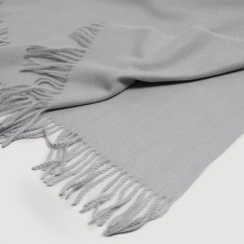 Fringed edge scarf - Women | MANGO United Kingdom