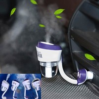 Car Steam Oil Diffuse Humidifier With Car Charger