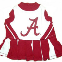 University of Alabama Pet Cheerleader Dress