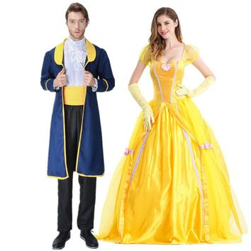 2018 Movie Beauty and The Beast cosplay costume Halloween costumes for adult Prince outfit cosplay Beauty and the Beast costume