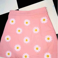 SWEET LORD O'MIGHTY! DAISY MINI SKIRT IN PINK