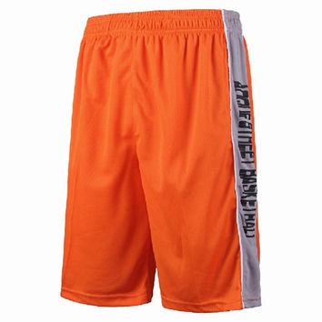 Basketball running shorts with pocket Pants Shorts Mens basketball Jersey Football Soccer shorts ventilation free shipping