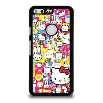 HELLO KITTY STICKER BOMB Google Pixel Case Cover