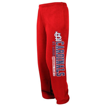 St. Louis Cardinals Fleece Pants - Red