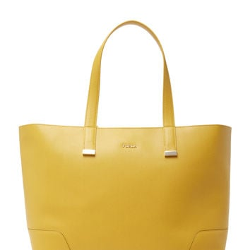 Furla Women's Stacy Large Tote - Yellow