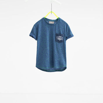 Neon flecked T - shirt-View all-T-SHIRTS-BOY | 4-14 years-KIDS | ZARA United States