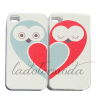 2 best friends OWL IPHONE case one for you one for your best friend iPhone 4 iPhone 5 samsung galaxy s3 hoot bff trendy