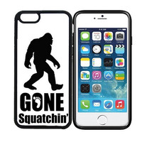 iPhone 6 (4.7 inch display) Designer Black Case - Gone Squatchin Big Foot