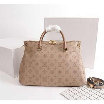 LV Louis Vuitton MONOGRAM LEATHER PALLAS HANDBAG SHOULDER BAG