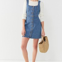 UO Button-Down Denim Mini Dress | Urban Outfitters
