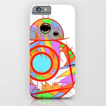Fan Art BB8 iPhone & iPod Case by mrnobody
