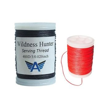 "High Quatity profession Bow string Serving thread 120m Roll 0.02"" Thickness for Various Bow string Archery Supplies"