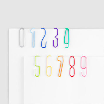 Numberclips
