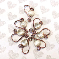 Lightweight Stitch Markers // No Snag Row Counters // Knitting Needle Size US 10.5