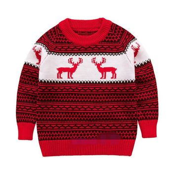 Boys Sweater Autumn Winter Turtleneck for Children Christmas Sweaters Girls Pullover Kids clothing 4-9 Years
